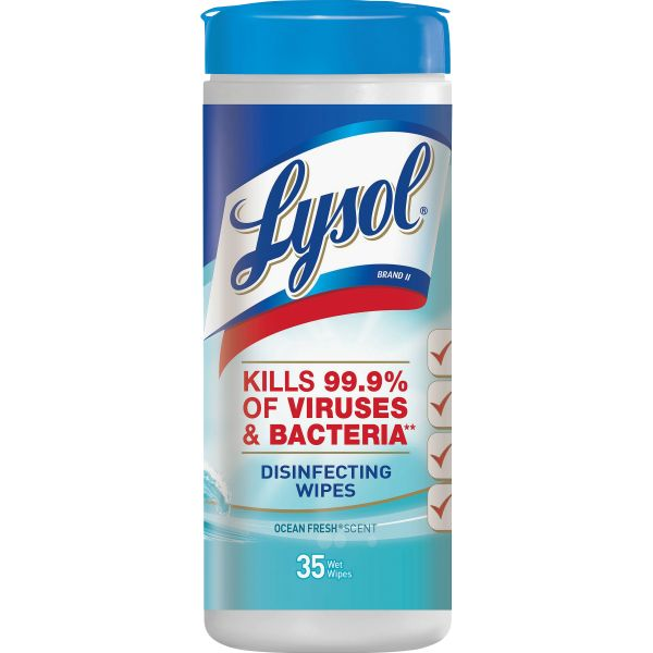 Lysol Ocean Fresh Disinfecting Wipes