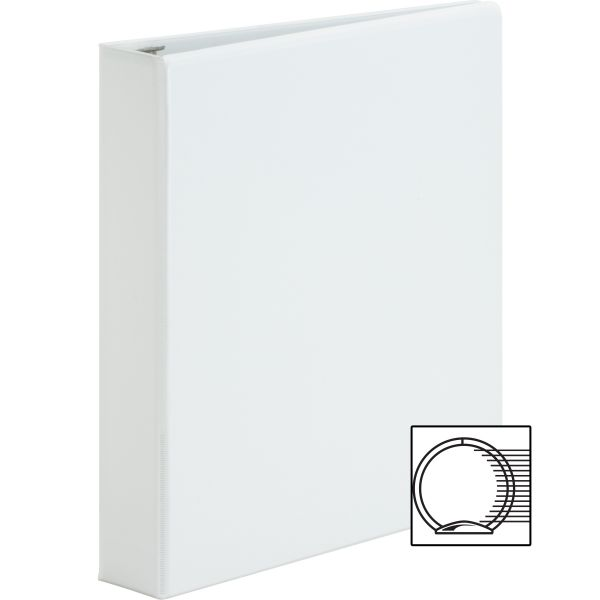 "Sparco Premium 1 1/2"" 3-Ring View Binder"
