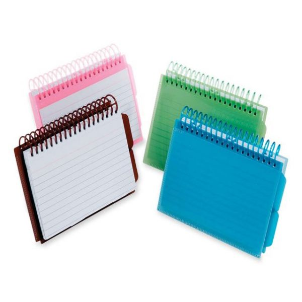 Oxford Vue Front Spiral Bound Ruled Index Cards