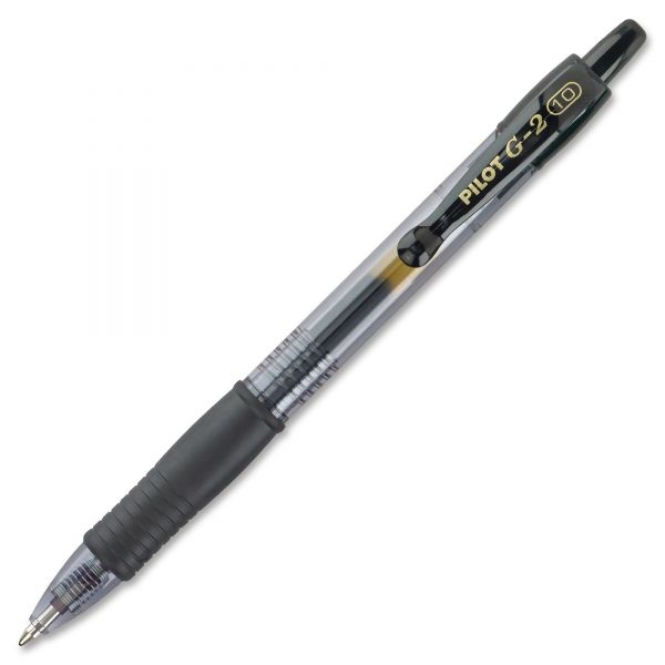 Pilot G2 Retractable Gel Pens