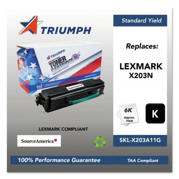 Triumph 751000NSH1326 Remanufactured X203A11G Toner, Black