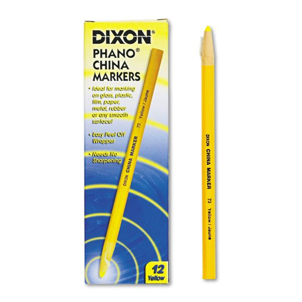 Dixon Phano Non-Toxic China Marker