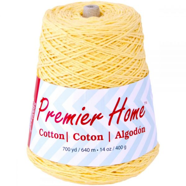 Premier Home Cotton Yarn - Yellow