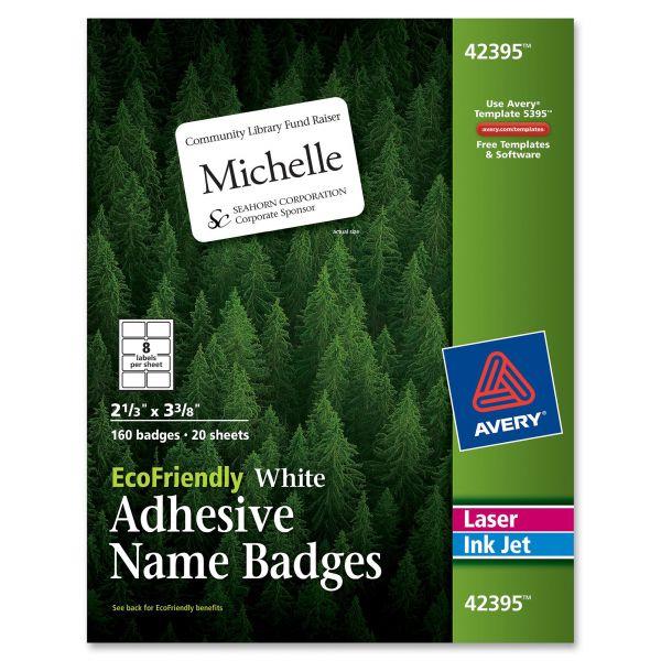 Avery EcoFriendly Name Badges
