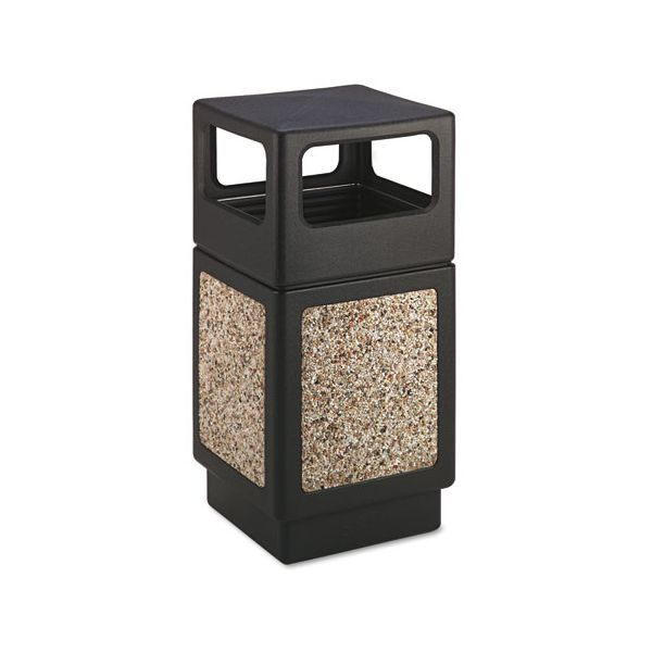 Safco Canmeleon Side Open Trash Receptacle