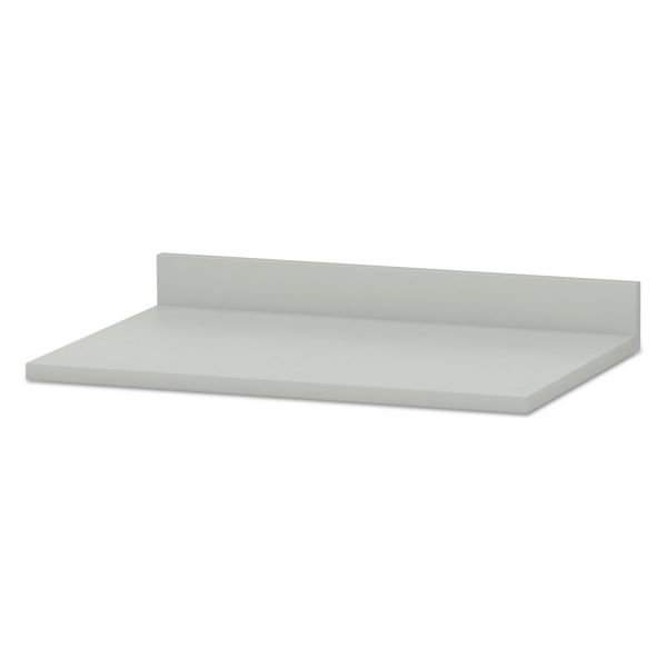 HON Hospitality Cabinet Modular Countertop, 36w x 25d x 4-3/4h, Light Gray