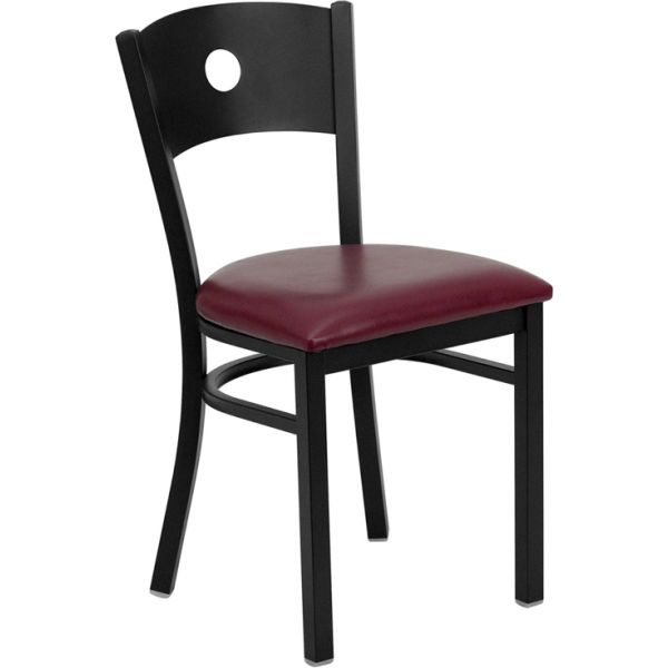 Flash Furniture Circle Back Metal Restaurant Chair