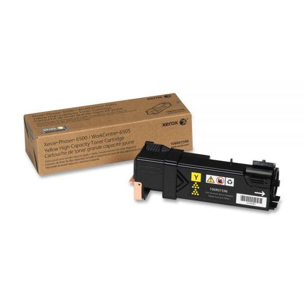 Xerox 106R01596 Yellow High Yield Toner Cartridge