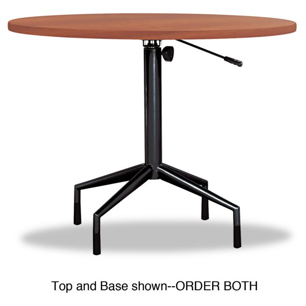 "Safco RSVP Series Round Table Top, Laminate, 36"" Diameter, Cherry"