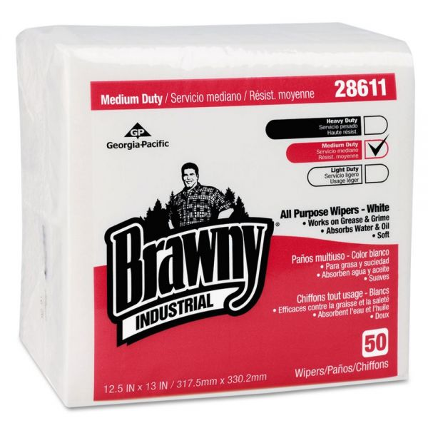 Brawny Industrial Medium Duty All Purpose Wipers