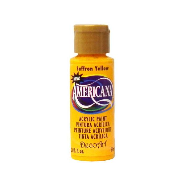 Deco Art Saffron Yellow Americana Acrylic Paint