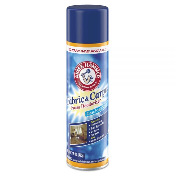 Arm & Hammer Fabric and Carpet Foam Deodorizer