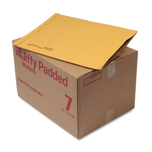 Sealed Air Jiffy Heavy-Duty #7 Padded Mailers