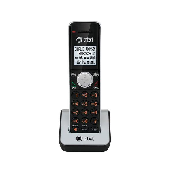 AT&T CL80111 Cordless Accessory Handset for AT&T CL83201, Silver