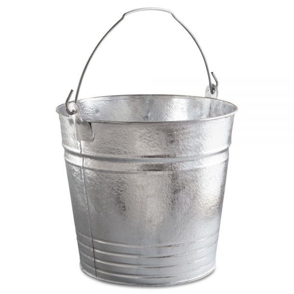 Magnolia Brush Standard-Duty Galvanized Pail