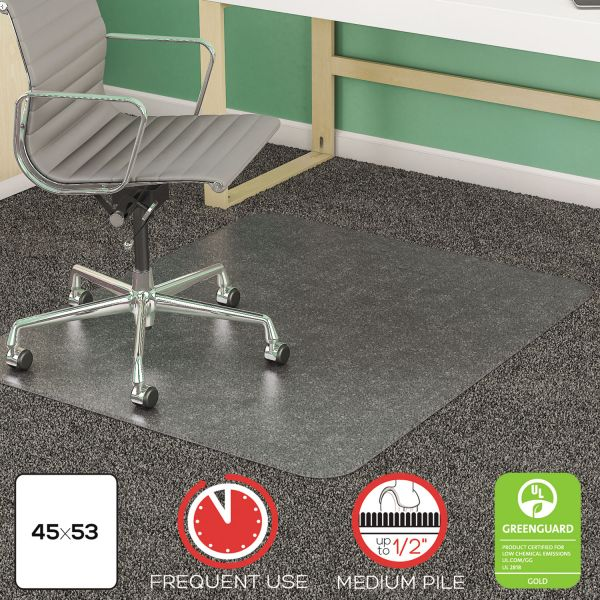 Deflect-o SuperMat Medium Pile Chair Mat