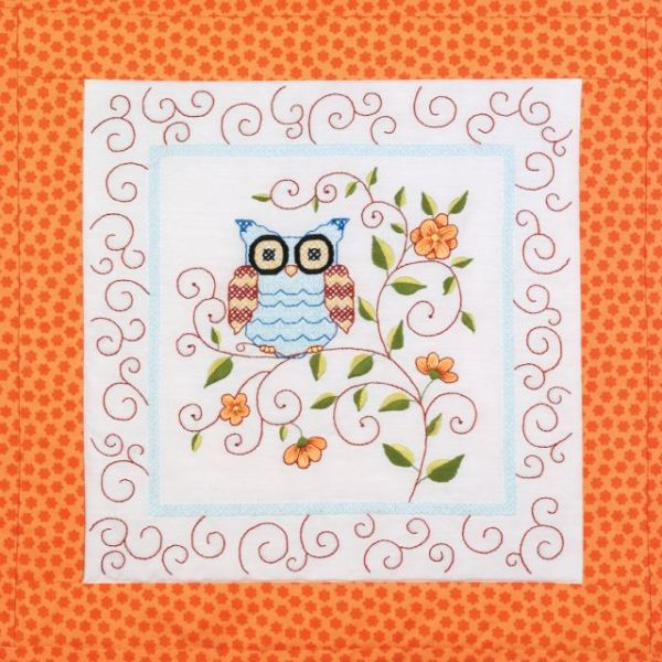Janlynn Stamped Cross Stitch Quilt Blocks Kit