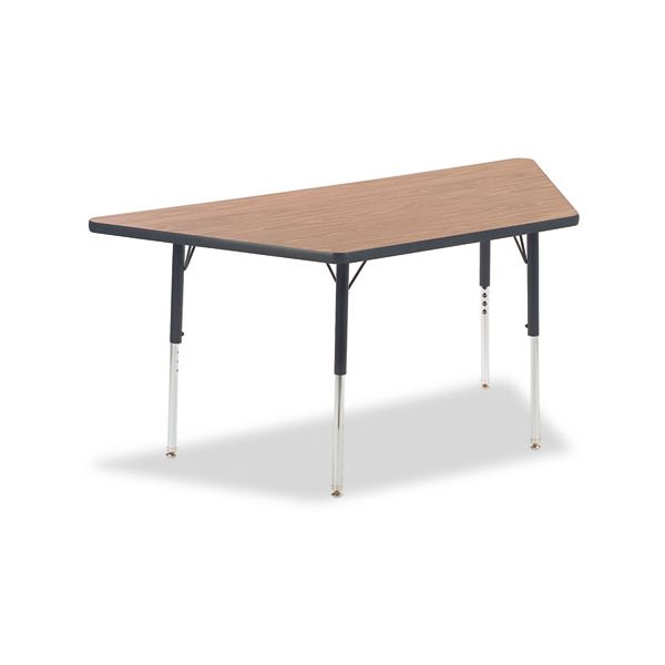 4000 Series Height Adjustable Trapezoid Activity Table
