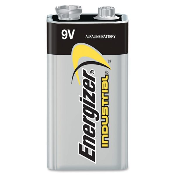 Energizer Industrial Alkaline 9V Battery