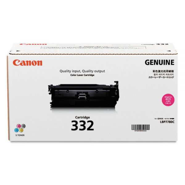 Canon 332 Magenta Toner Cartridge (6261B012)