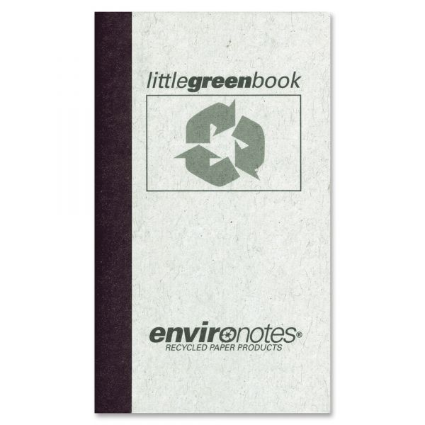 Environotes Little Green Memo Notebook