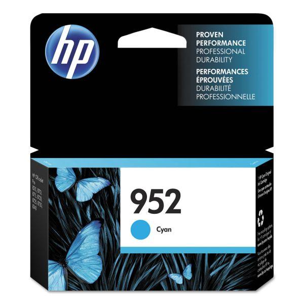 HP 952 Cyan Ink Cartridge (L0S49AN)