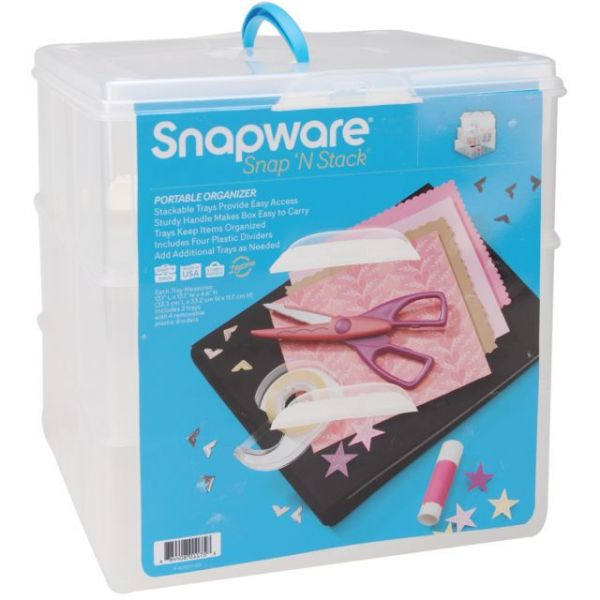 Snapware Snap 'n Stack Craft Organizer Container