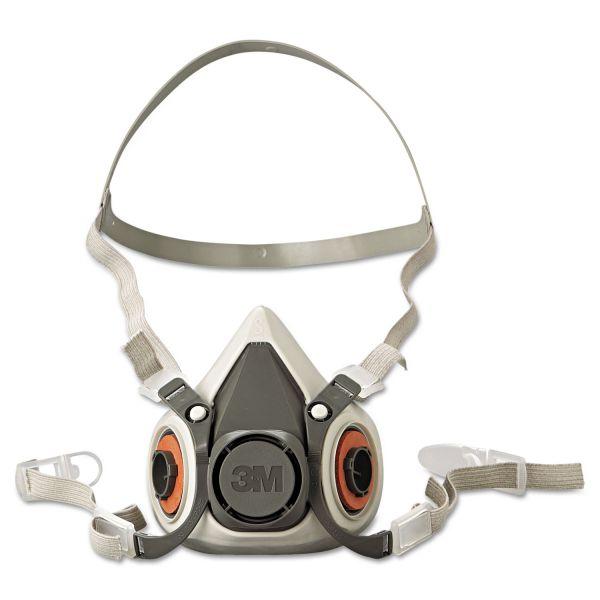 3M Half Facepiece Respirator 6000 Series, Reusable, Small