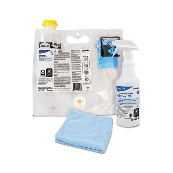 Diversey Glance NA Glass & Multi-Surface Cleaner Kit