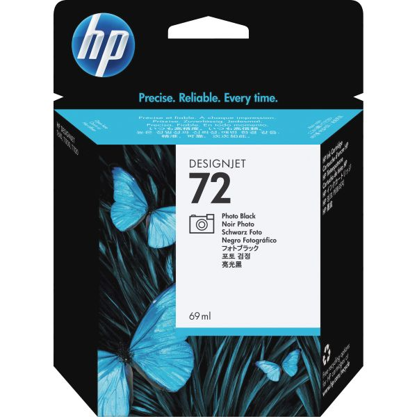 HP 72 Photo Black Ink Cartridge (C9397A)