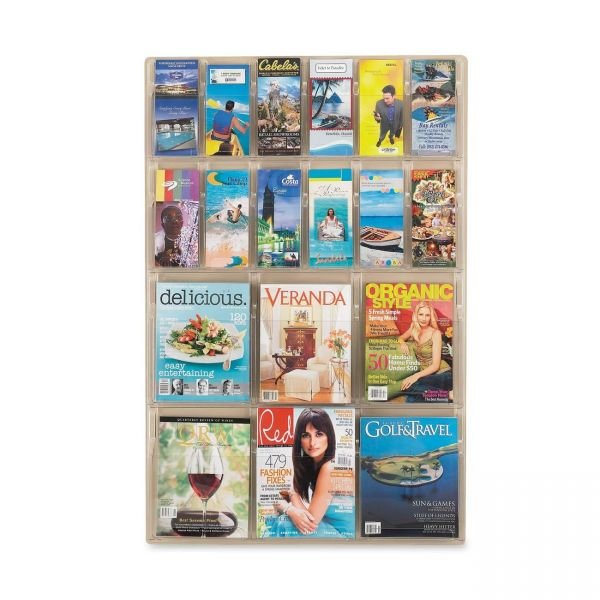 Safco Magazine/Pamphlet Display Rack