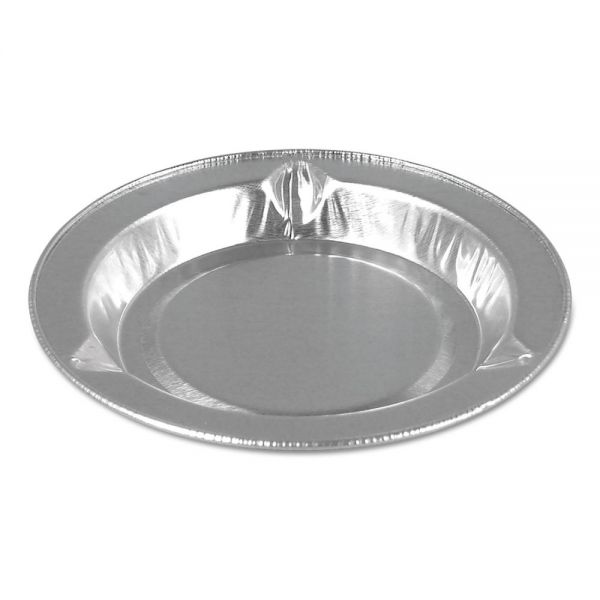 "Handi-Foil of America Aluminum Ashtray, Round, 3.5"" dia., 5/16"" depth, 1000/Carton"