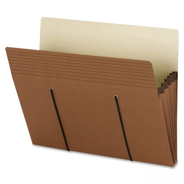 Smead Secure Redrope Expanding File Pockets