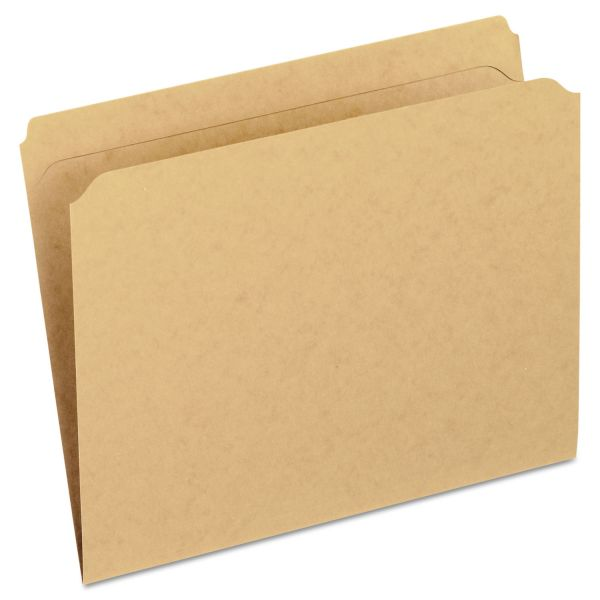 Pendaflex Two-Ply Dark Kraft Colored File Folders