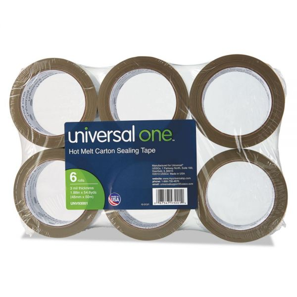 Universal One Hot Melt Packing Tape
