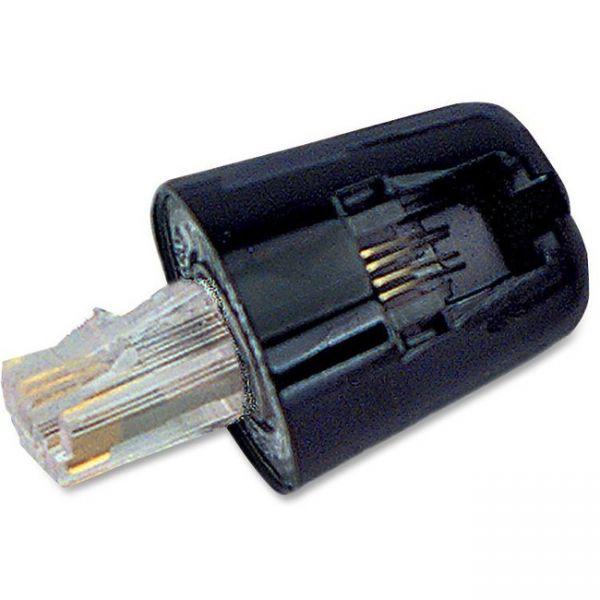 Softalk Twisstop Rotating Phone Cord Detangler, Black