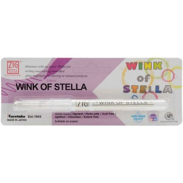 Zig Memory System Wink Of Stella Glitter Marker (Packaged)