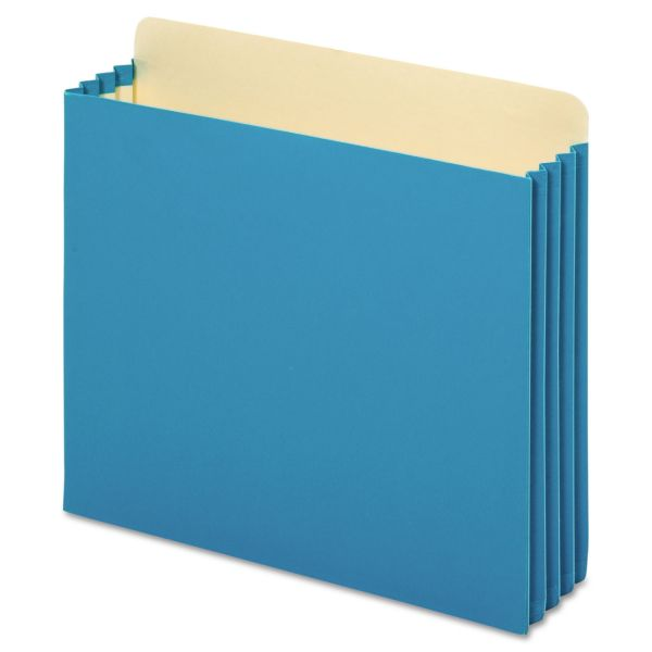 Pendaflex Heavy-duty File Cabinet Blue Colored Expanding File Pockets