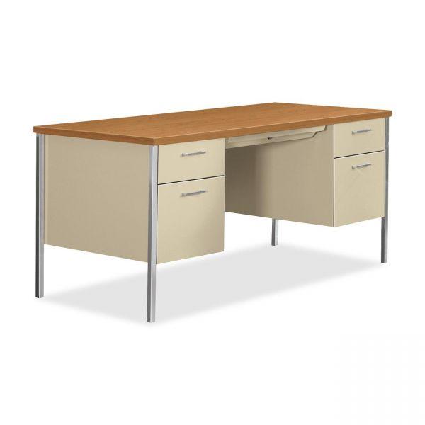 HON 34000 Series Double Pedestal Computer Desk