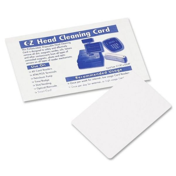 PM Machine Cleaning Swipe Cards
