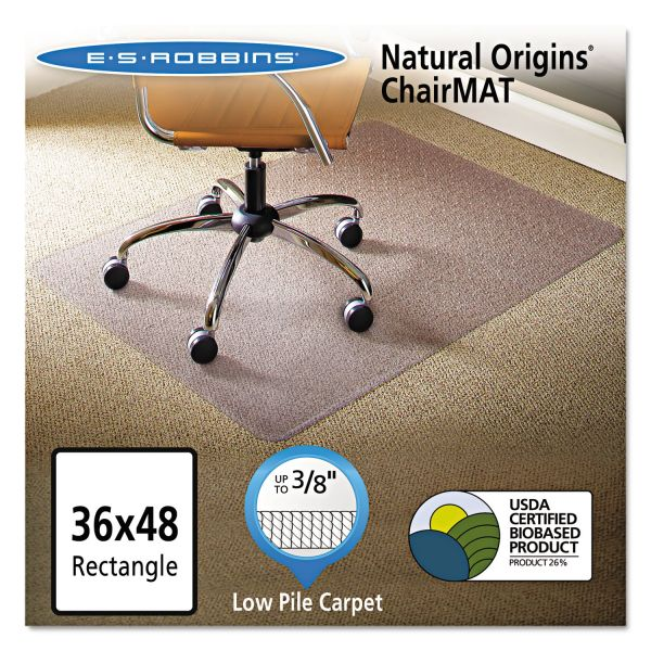 E.S. Robbins Natural Origins Low Pile Chair Mat