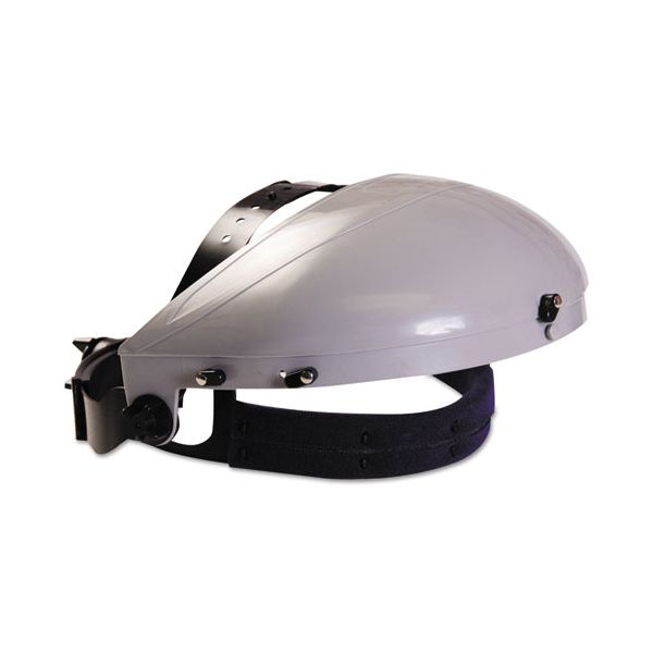 Anchor Brand Headgear with Ratchet Adjustment, ABS Plastic, Gray