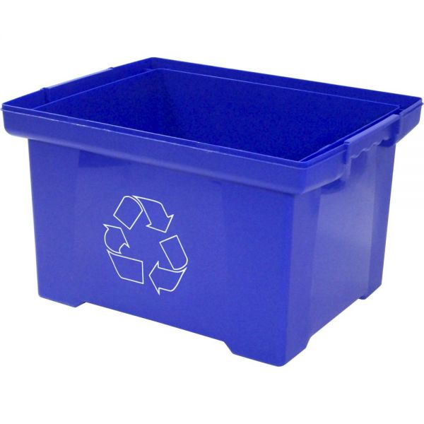 Storex XL Recycling Bin