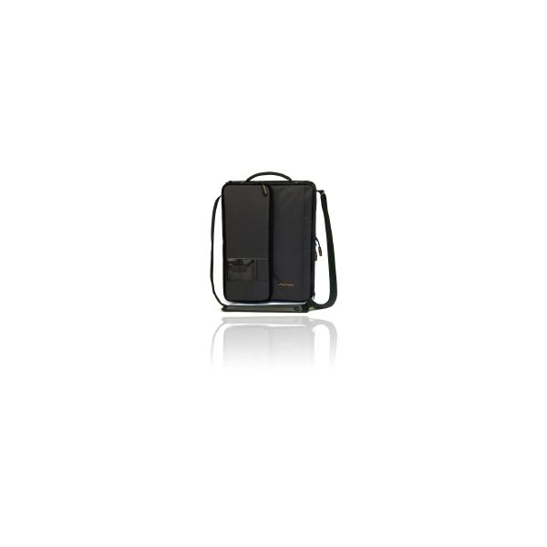 """Higher Ground Shuttle 2.1 Carrying Case for 11"""" Notebook, Document, Accessories - Black"""