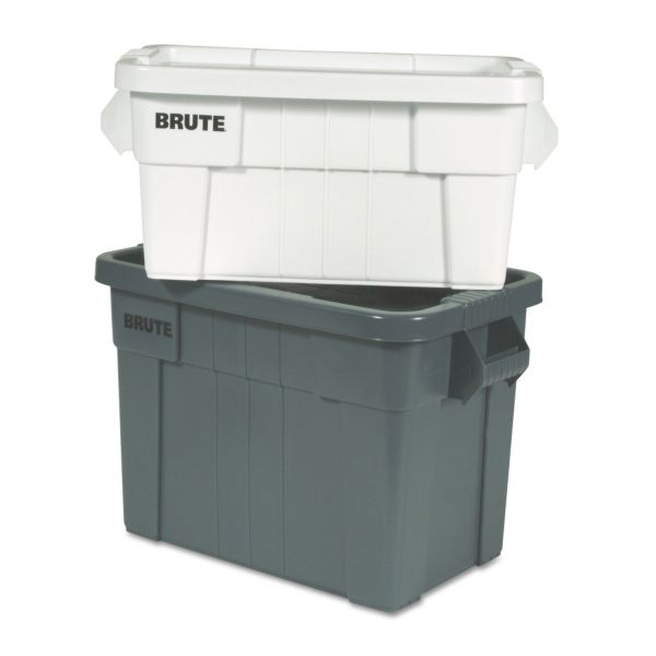 Rubbermaid Commercial Brute Tote Box, 20gal,Gray
