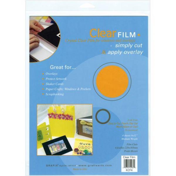 "Film Sheets 9""X12"" 4/Pkg"