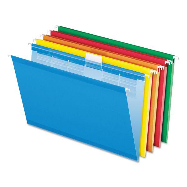 Esselte Pendaflex Ready Tab Color Hanging File Folders