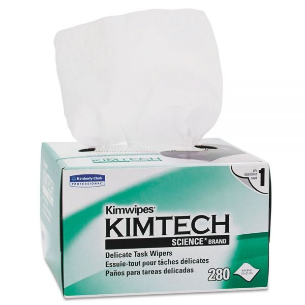 KIMWIPES Kimtech Delicate Task Wipes
