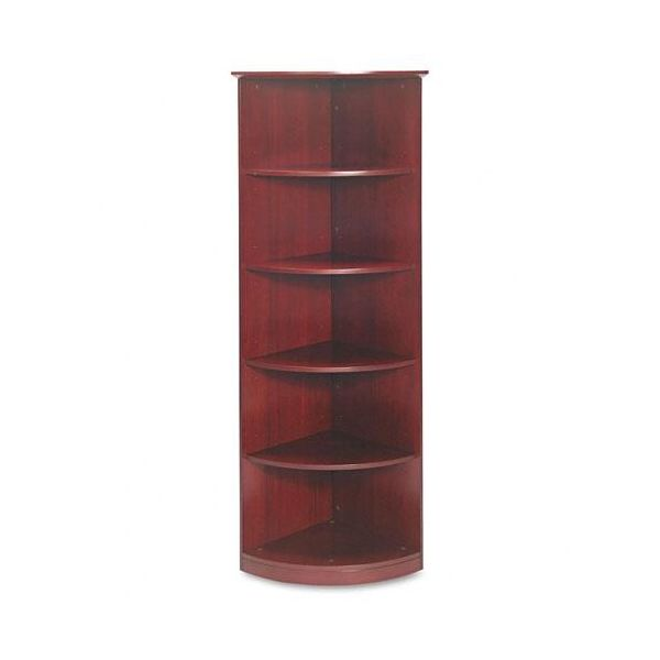 Tiffany Industries Corsica Series 1/4 Round Bookcase