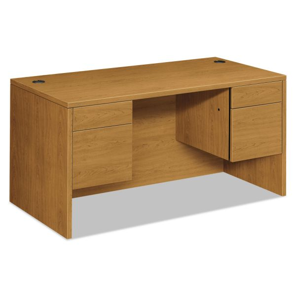 "HON 10500 Double Pedestal Desk | 2 Box / 2 File Drawer | 60""W"